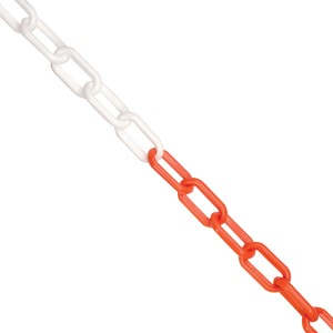 Red/White Plastic Chain