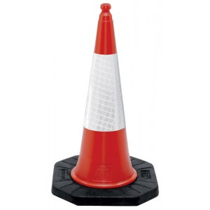 Traffic Cone   1000mm Two Piece