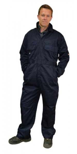 Polycotton Navy Boilersuit