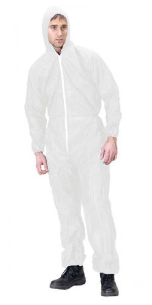 Diposable Coverall c/w Hood