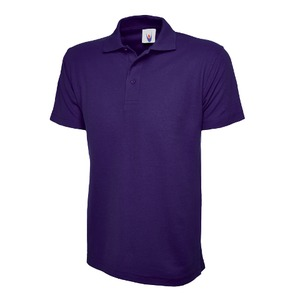 Polycotton Navy Polo Shirt