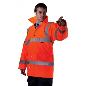 EN471 Hi-Vis Executive Jacket Orange