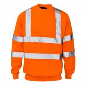 Hi-Vis Sweatshirt Orange