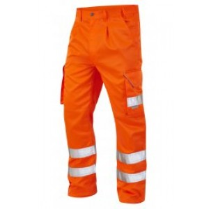 Hi-Vis Cargo Trouser Orange