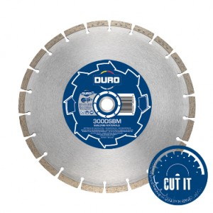 Diamond Blade 300mm x 20mm Base