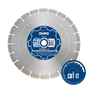 Diamond Blade 350mm x 25.4mm DU/C