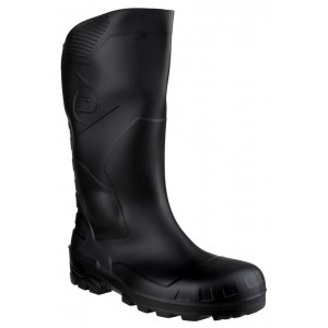 Dunlop Safety Knee Wellington Boot