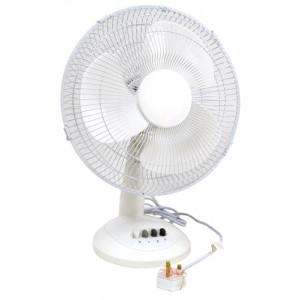 Electric Oscillating Desk Fan