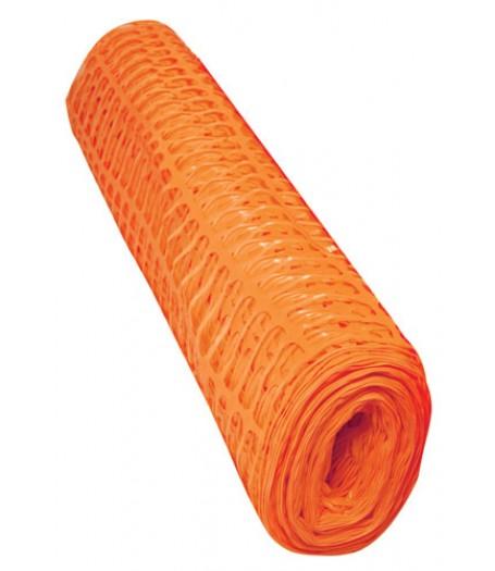 Orange Plastic Mesh Barrier Fencing