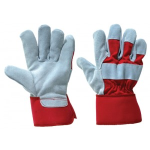 Canadian Pattern High Quality Leather Rigger Glove