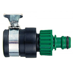 Water Hose Wing Nut Tap Connector