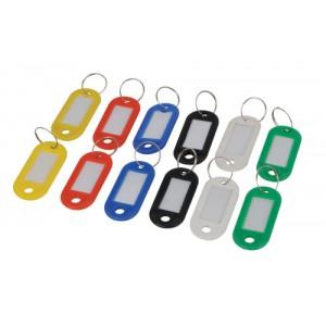 Key Ring c/w PVC Label