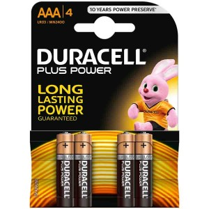 Pack 2 Duracell Plus C Cell Batteries