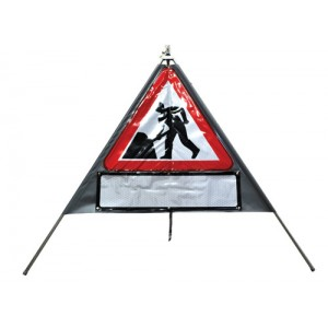 Triangle Roll-up Sign