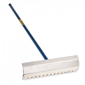 Concrete Placer Rake c/w Tubular Handle