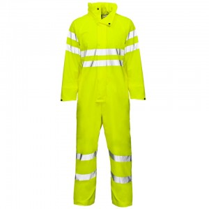 Storm-Flex PU Breathable Coverall Yellow
