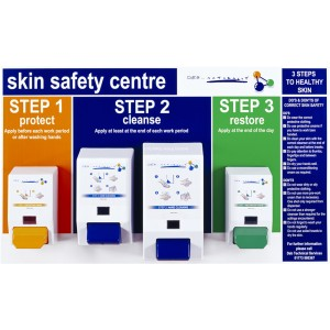 DEB Naturally Safety Centre c/w Dispensers