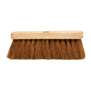 "10"" Flat Stock Coco Broom Head"