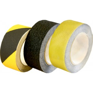 Anti Slip Hazard Tape 50mm x 10mtr Black