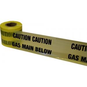 Underground Warning Tape Gas Main Below