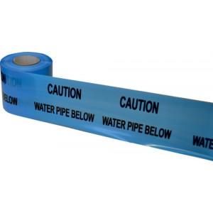 Underground Warning Tape Water Pipe Below