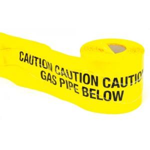 Detectable Underground Warning Tape Gas Pipe Below