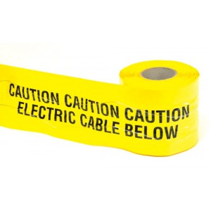 Detectable Underground Warning Tape Electric Cable Below