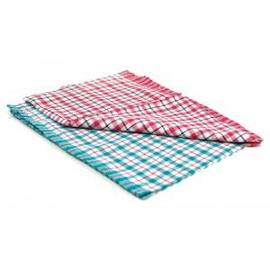 Check Tea Towel Pack 10