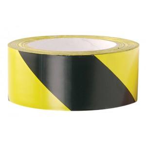 Self Adhesive PVC Floor Marking Tape Black/Yellow