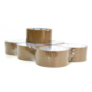 Brown Parcel Tape 50mm x 66m Roll