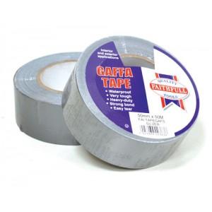 Gaffer Tape Silver Cloth 50mm x 50mtr