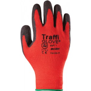Traffiglove MOTION Red Latex Palm Coated Glove Size 10