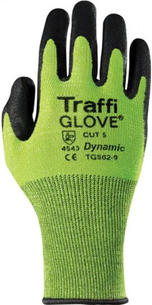 Traffiglove DYNAMIC Green PU Palm Coated Glove Size 10