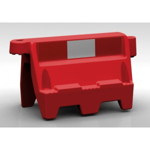 Roadbloc Traffic Separator Red