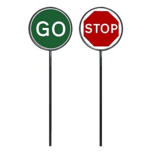 Stop/Go Ring And Pole